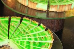 farbenfrohe Kuchen
